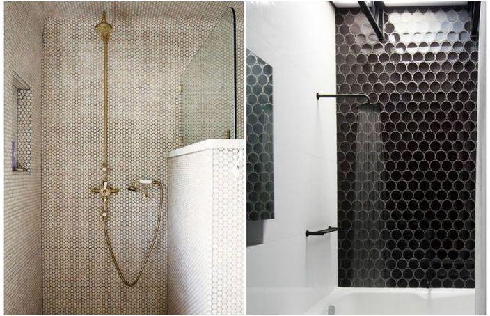 Revêtement de douche: 18 exemples incroyablement cool