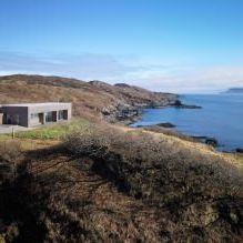 Одноэтажный загородный дом с плоской кровлей в Шотландии-3