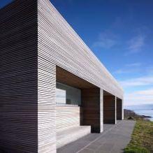 Одноэтажный загородный дом с плоской кровлей в Шотландии-4