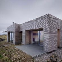 Одноэтажный загородный дом с плоской кровлей в Шотландии-5
