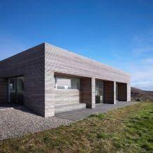 Одноэтажный загородный дом с плоской кровлей в Шотландии-6