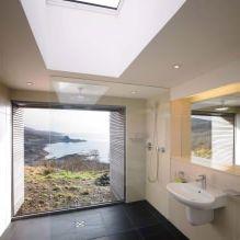 Одноэтажный загородный дом с плоской кровлей в Шотландии-13