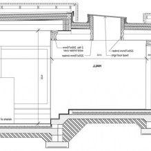 Одноэтажный загородный дом с плоской кровлей в Шотландии-15