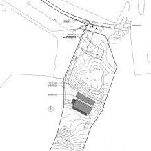 Одноэтажный загородный дом с плоской кровлей в Шотландии-17