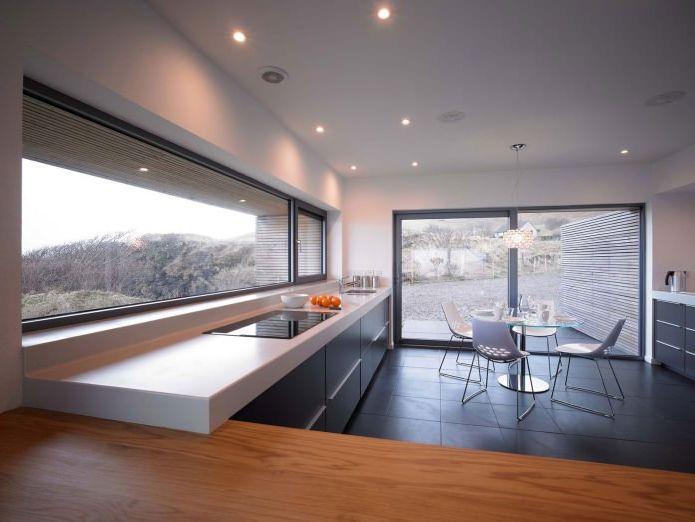 интерьер одноэтажного загородного дома
