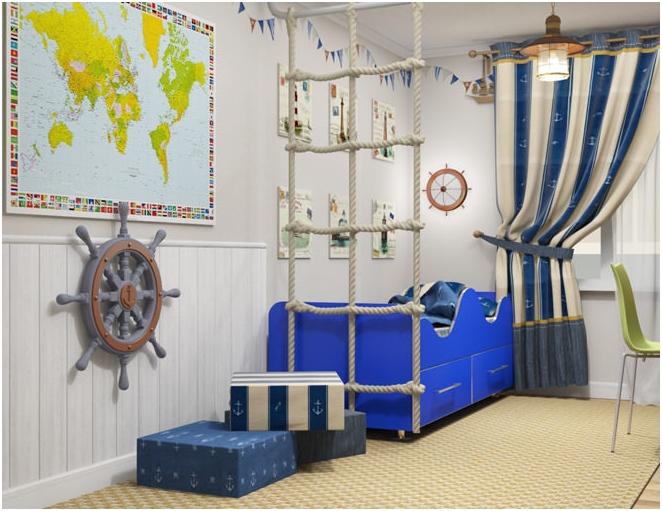 intérieur de style nautique
