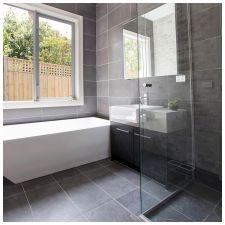 Сиви плочки в банята: функции, снимка-6