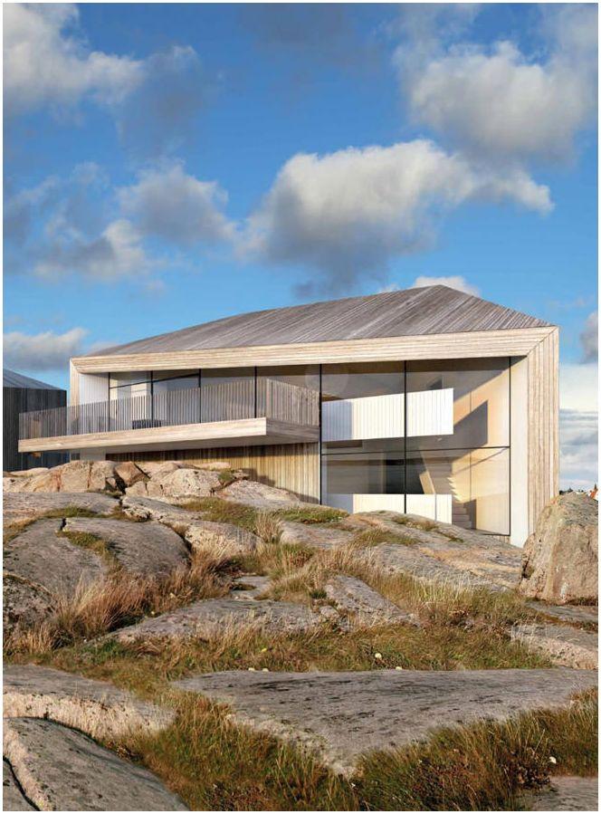 Характеристики на къщите в стила на минимализма