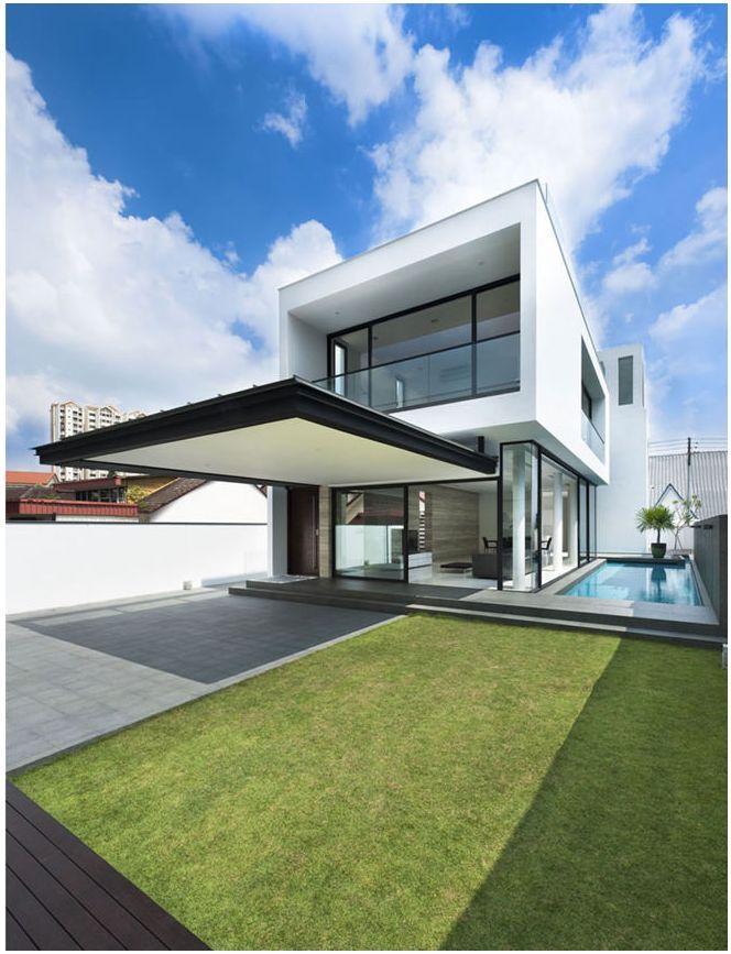 Фото дома в стиле минимализм