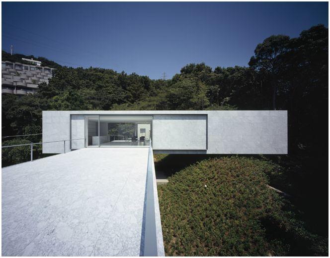 Къща в стила на минимализма