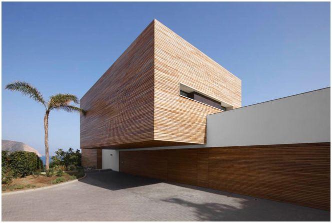 Снимка на къща в стила на минимализма