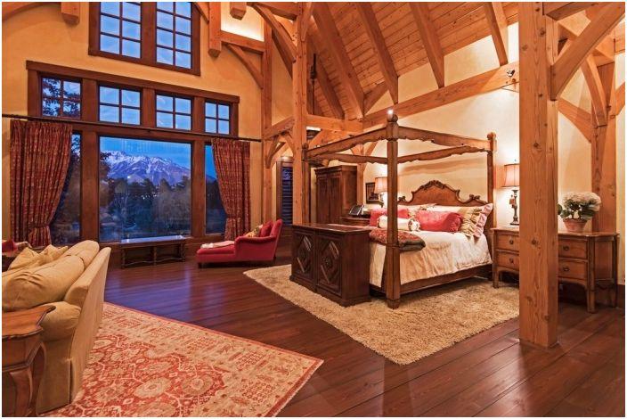 Оборът. Спалня.