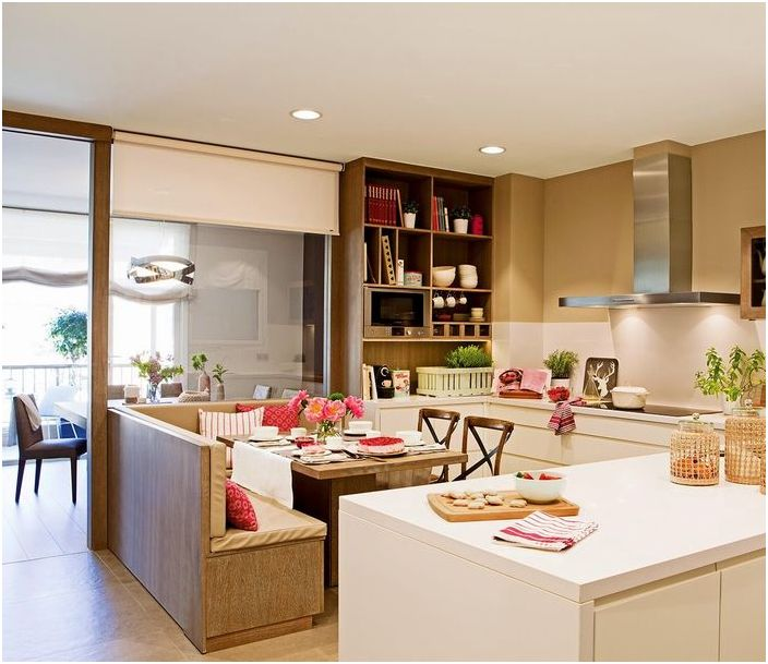 Прожектори в кухнята