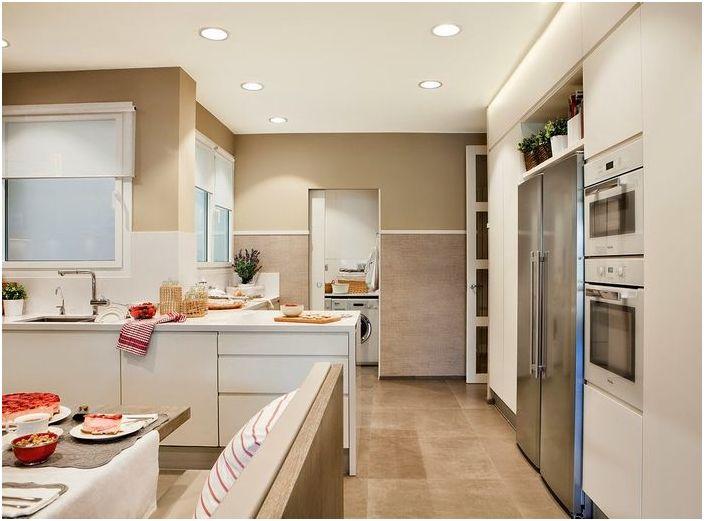 Правилно осветление в кухнята