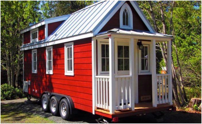 Tiny House е бягство от уикенда.