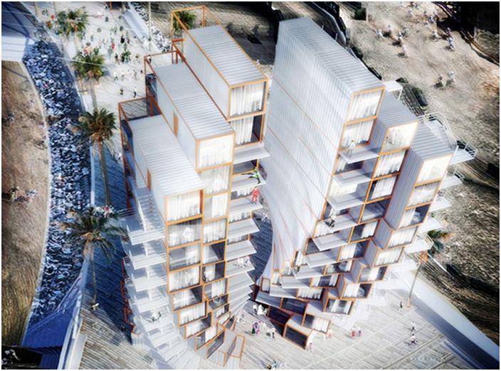 В Лас Вегас ще се появи хотел с контейнери.