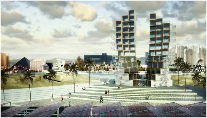 Архитектурна концепция от M-Rad.