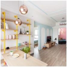 Pastelowe kolory we wnętrzu: cechy, style, zdjęcie-1