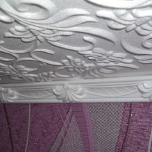 Пяна плочки за тавана: плюсове и минуси, етапи на залепване-4