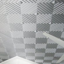 Пяна плочки за тавана: плюсове и минуси, етапи на залепване-8