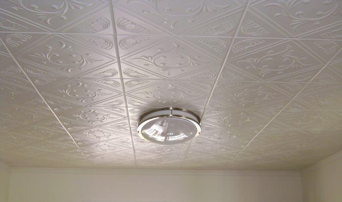 плочки от пяна на тавана