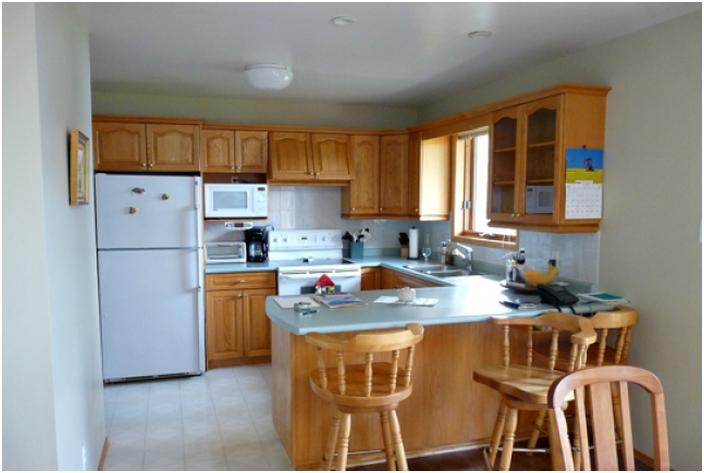 Преди ремонта кухнята изглеждаше добре