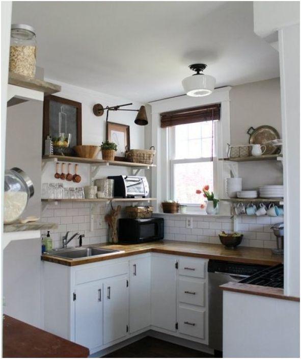 След обновяването кухнята стана визуално по-просторна