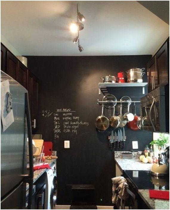 Боята с дъска превръща тази кухня