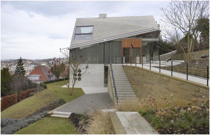Projet d'architecture par MBA / S Matthias Bauer Associates.