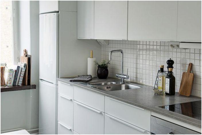 Кухня в скандинавски стил