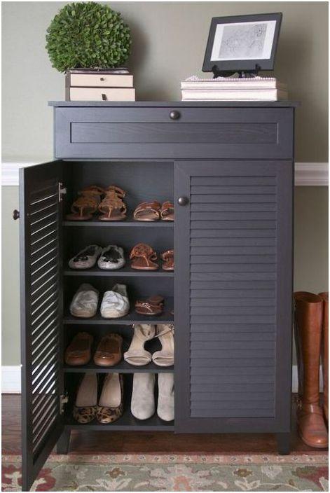 Конзола със съхранение на обувки