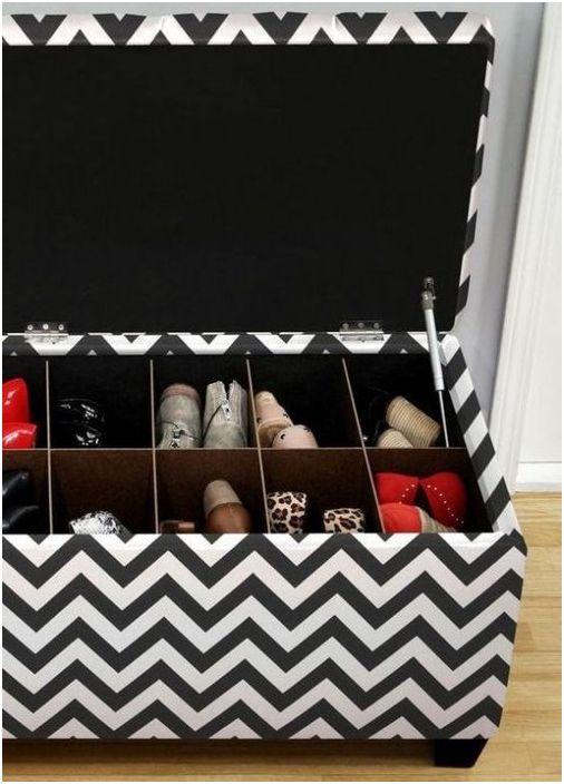 Пейка със съхранение на обувки