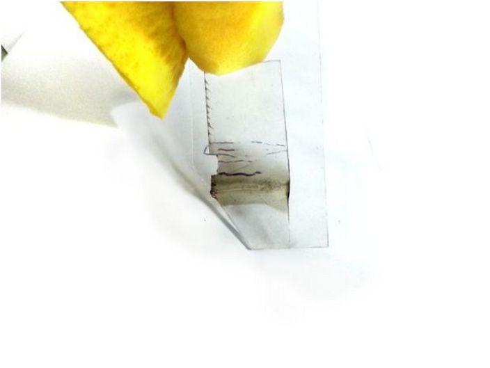 Правим валяк за боядисване на стени с дъга