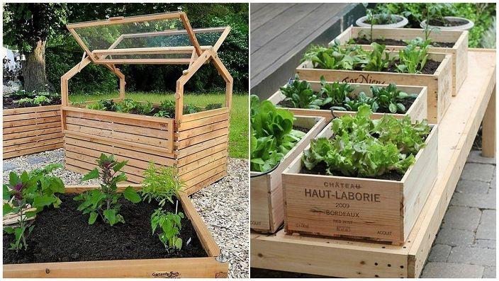 Страхотни идеи за декориране на градински легла и зеленчукови градини.