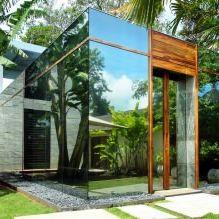 Раствориться в ландшафте: 8 зданий с зеркальными фасадами-4
