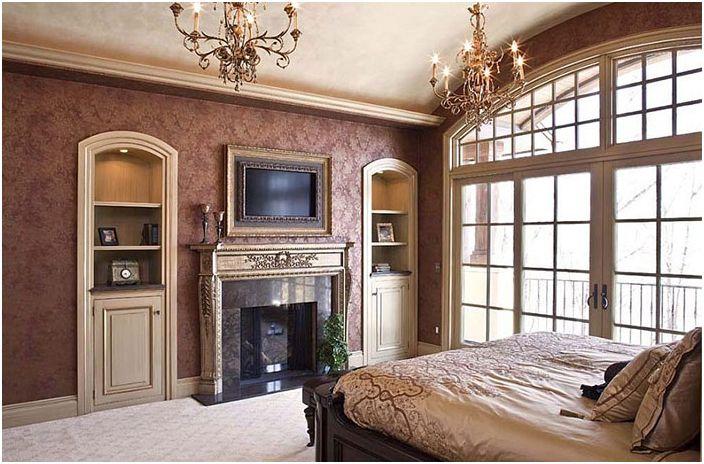 Wnętrze sypialni od Hendel Homes