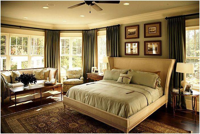 Wnętrze sypialni VanBrouck & Associates