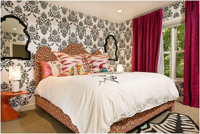 Wnętrze sypialni autorstwa Grace Home Design