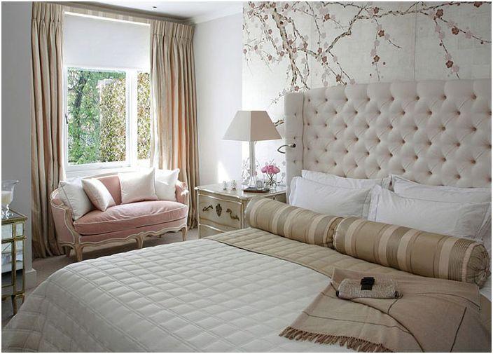 Wnętrze sypialni od VSP Interiors