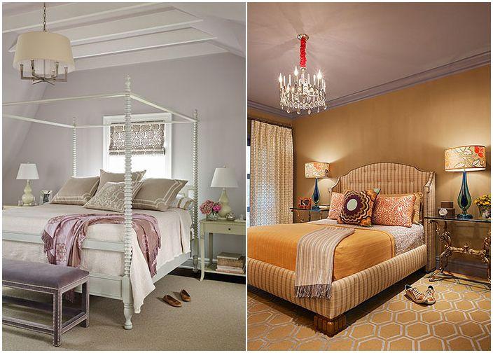 Kolory wiktoriańskiej sypialni