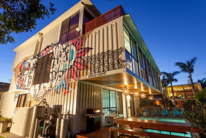 Дизайн на контейнерна къща от Тод Милър.