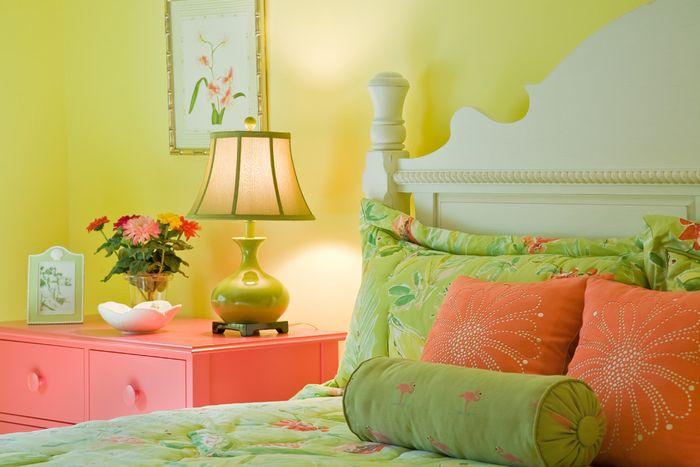 Słońce w domu: jak prawidłowo używać żółtego we wnętrzu