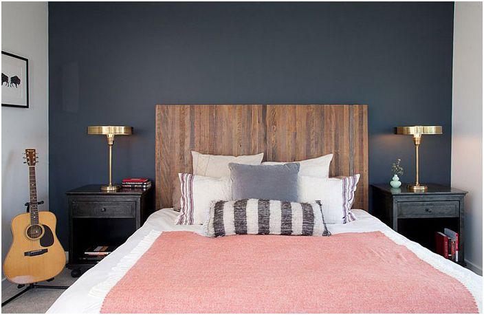 Nowoczesne wnętrze sypialni od Geremia Design