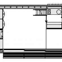 Nowoczesny projekt małego prywatnego domu w lesie-8