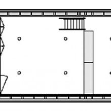 Nowoczesny projekt małego prywatnego domu w lesie-9