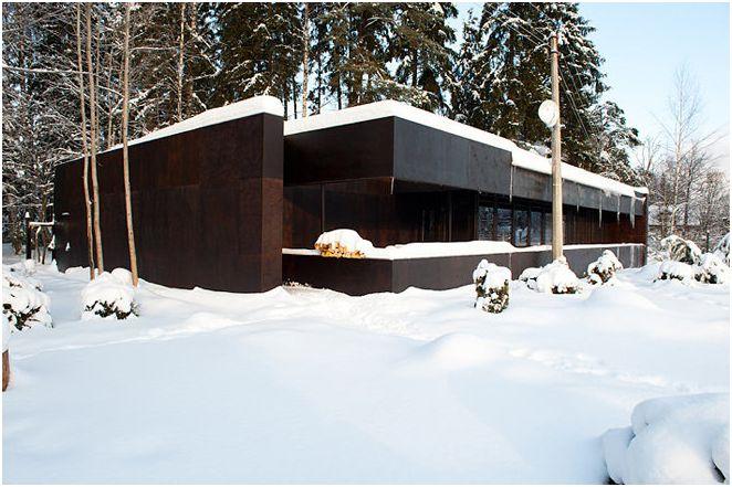 Nowoczesny projekt wiejskiego domu