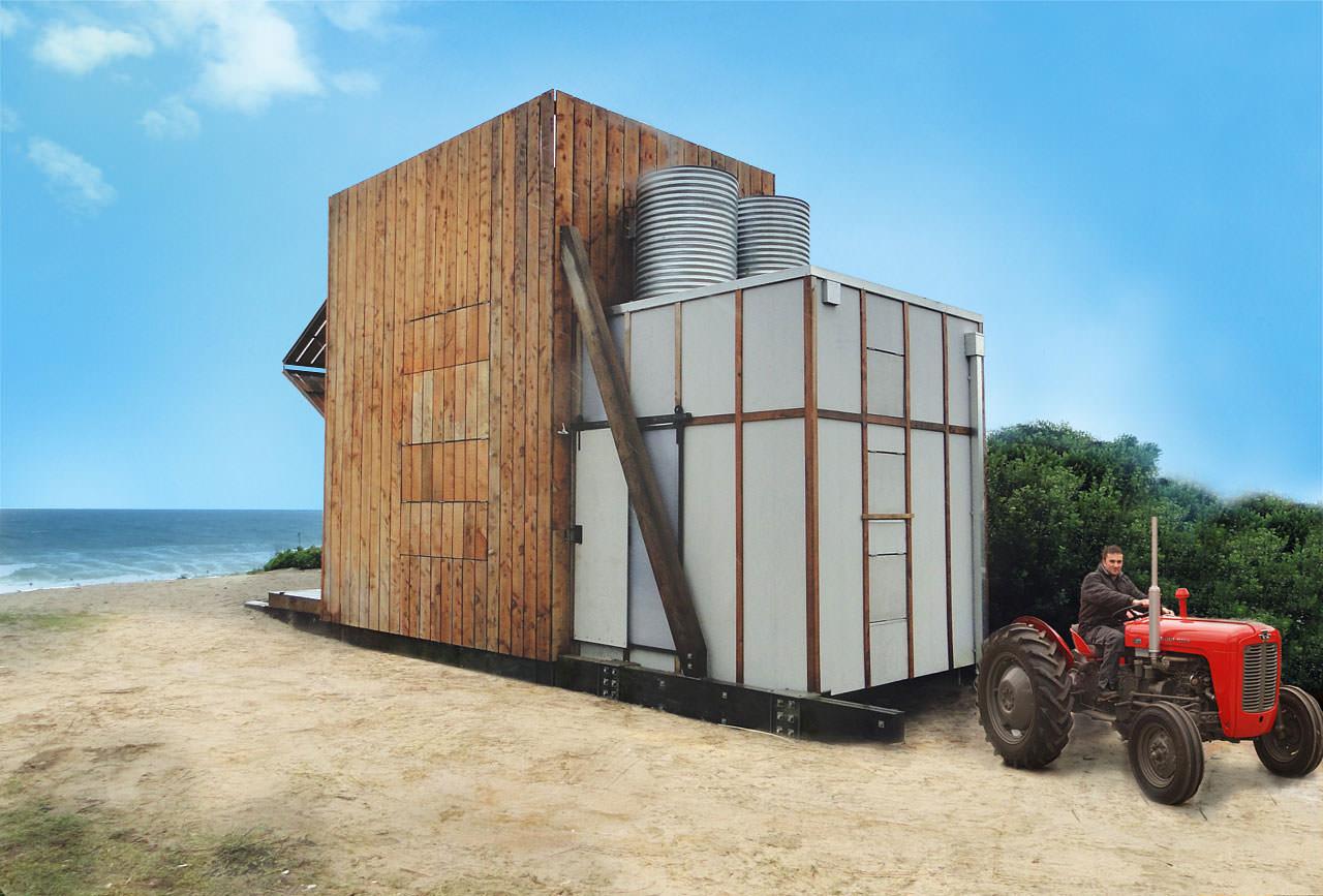 транспортируема модерна малка къща
