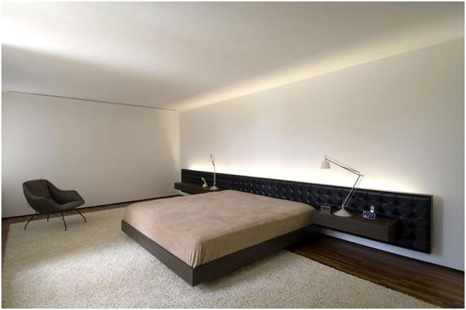 Снимка на минимализма в интериора