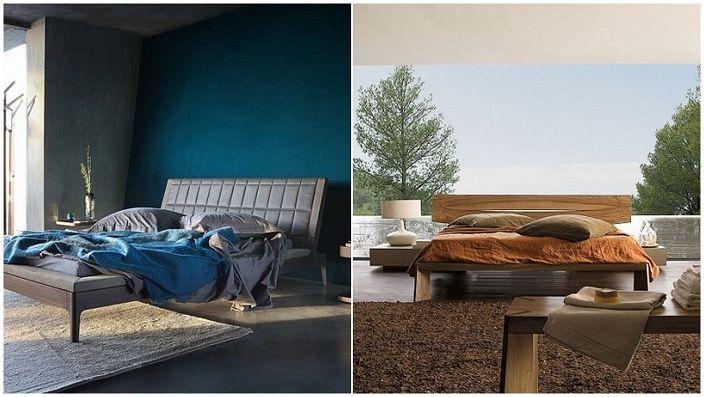 Очарователни дизайни на спални от Roche Bobois.
