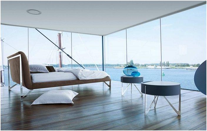 Интересен модерен интериорен дизайн от Roche Bobois, оптималното решение за декорация на спалнята.